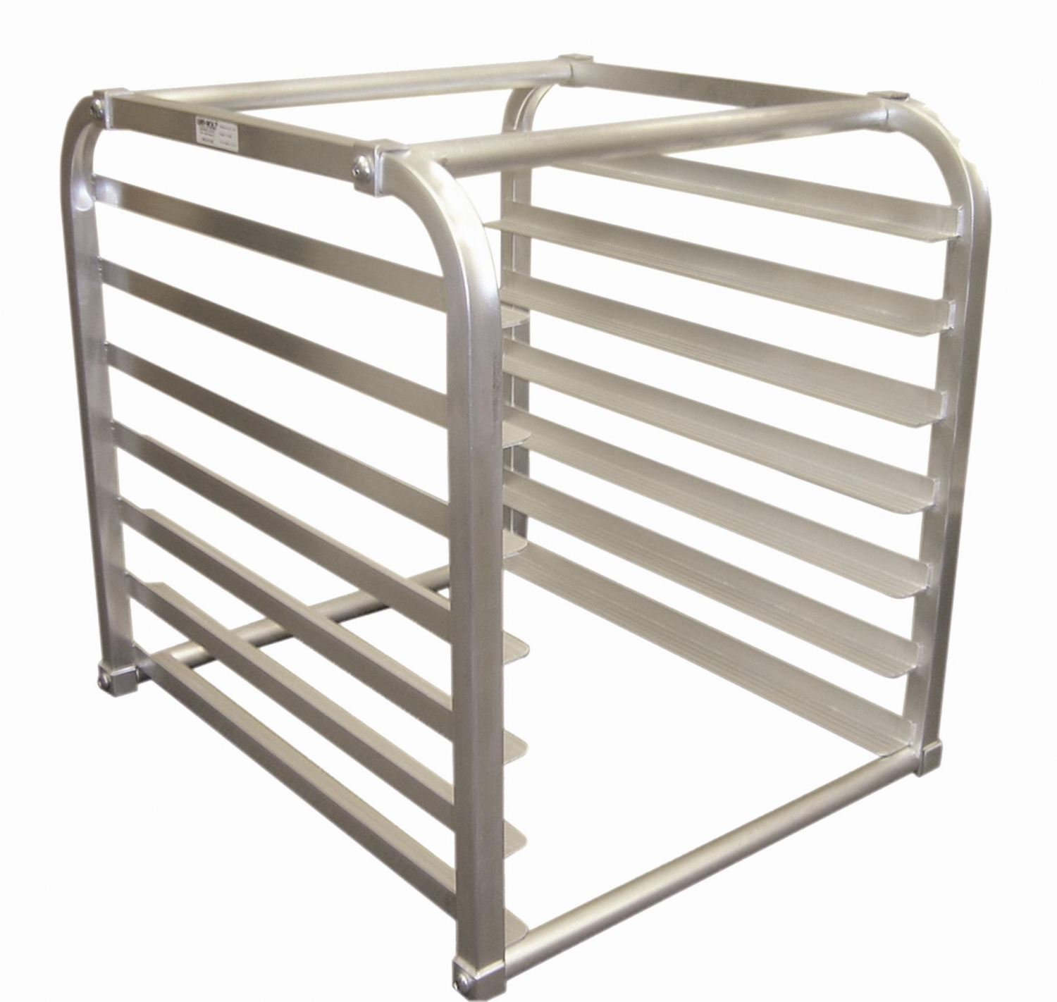 Win-Holt AL-1807-IR-KD 7-Pan Reach-In Refrigerator Insert Rack