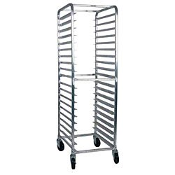 Win-Holt AL-1815B 15-Pan Front Load Aluminum Sheet Pan Rack