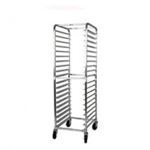 Win-Holt AL-1818B 18-Pan Front Load Aluminum Sheet Pan Rack