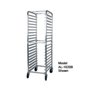 Win-Holt AL-2615B 15-Pan Side Load Aluminum Sheet Pan Rack