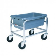 Win-Holt AL-L-1 Mobile Aluminum Lug Cart, 1 Lug Capacity