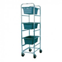 Win-Holt AL-L-6 Mobile Aluminum Lug Cart, 6 Lug Capacity