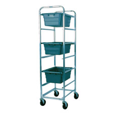 Win-Holt AL-L-6 6-Lug Mobile Aluminum Lug Cart