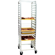 Win-Holt ALC-1840 40-Pan Aluminum Full Height Pan Rack