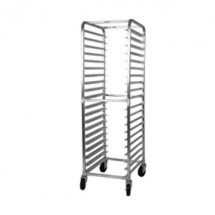 Win-Holt ALREF-1818/64E 18-Pan Front Load Aluminum Roll-In Refrigerator Rack