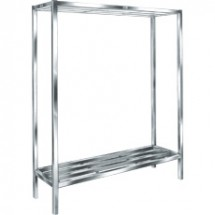 "Win-Holt ALSCH-48-224 Aluminum E-Channel Cooler and Backroom Shelving 24"" x 48"""