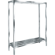 "Win-Holt ALSCH-60-224 Aluminum E-Channel Cooler and Backroom Shelving 24"" x 60"""