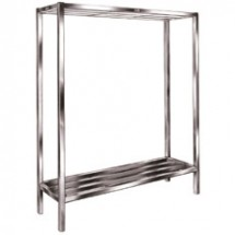 "Win-Holt ALSCS-48-220 Aluminum Tubular Cooler and Backroom Shelving 20"" x 48"""