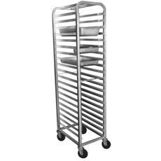Win-Holt ALSPR-2220 20-Pan Aluminum Steam Pan Rack