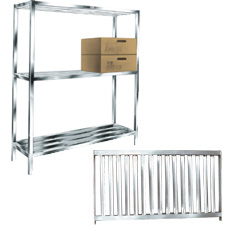 "Win-Holt ALSTB-48-320 Aluminum T-Bar Cooler and Backroom Shelving 20"" x 48"""