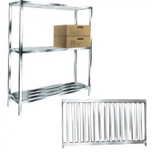 "Win-Holt ALSTB-60-324 Aluminum T-Bar Cooler and Backroom Shelving 24"" x 60"""