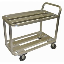 Win-Holt ALUC-2-2036/36H Heavy Duty Aluminum Utility Cart 20""