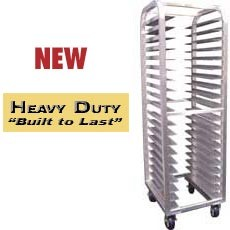 Win-Holt ALUN-1812/HD 12-Pan Heavy Duty Aluminum Universal Sheet Pan Rack