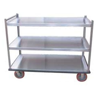 Win-Holt BNQT-3 Aluminum Queen Mary Banquet Cart, 3 Shelves