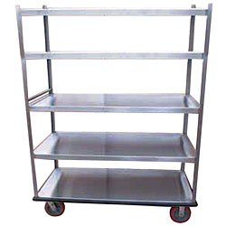 Win-Holt BNQT-5 5-Shelf Aluminum Queen Mary Banquet Cart