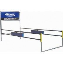 Win-Holt CCRL-1S1R-1SWM-GEN Shopping Cart Corral