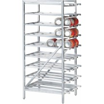 Win-Holt CR-162 #10 Stationary Aluminum Can Rack