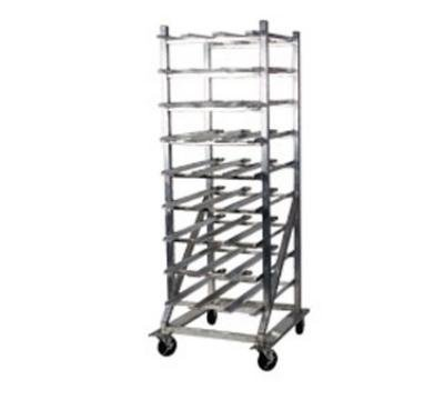 Win-Holt CR-162M Mobile Aluminum Can Dispensing Rack #10 Cans