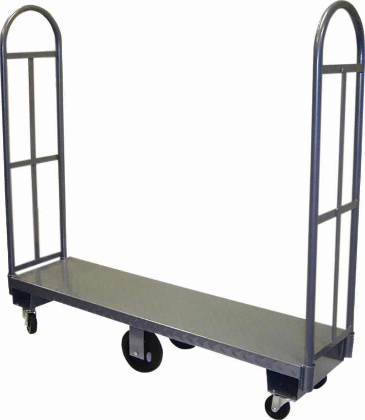 Win-Holt D-60 U-Boat Economy Utility Cart with Diamond Steel Deck