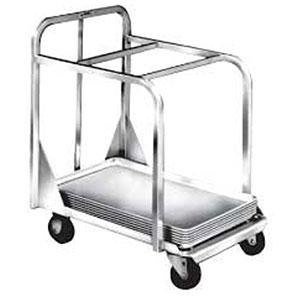 Win-Holt D2027A-BPC Aluminum Sheet Pan Truck with Two Top Cross Bars