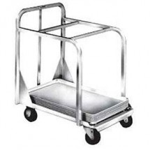 Win-Holt D2027-BPC Aluminum Sheet Pan Truck with Two Top Cross Bars