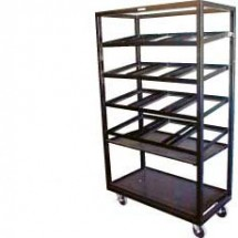 "Win-Holt DR-2143 Bagel Display Rack With Removable Trays 21"" x 43"""