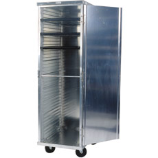Win-Holt EC1824-C 24-Pan Enclosed Mobile Transport Cabinet