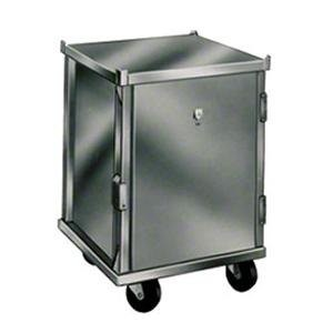 Win-Holt EC1840-C/LD 40-Pan Enclosed Mobile Transport Cabinet with Clear Acrylic Door