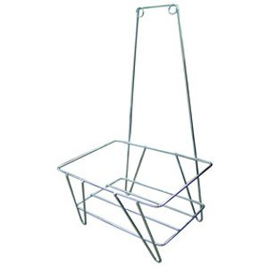 Win-Holt LSB-STD Shopping Basket Steel Stand