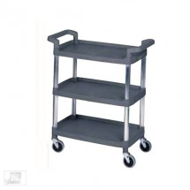 Win-Holt PBC-1830A Plastic Utility Bus Cart