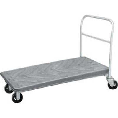 "Win-Holt PN2448R Nesting Platform Cart with Rear Basket 24"" x 48"""