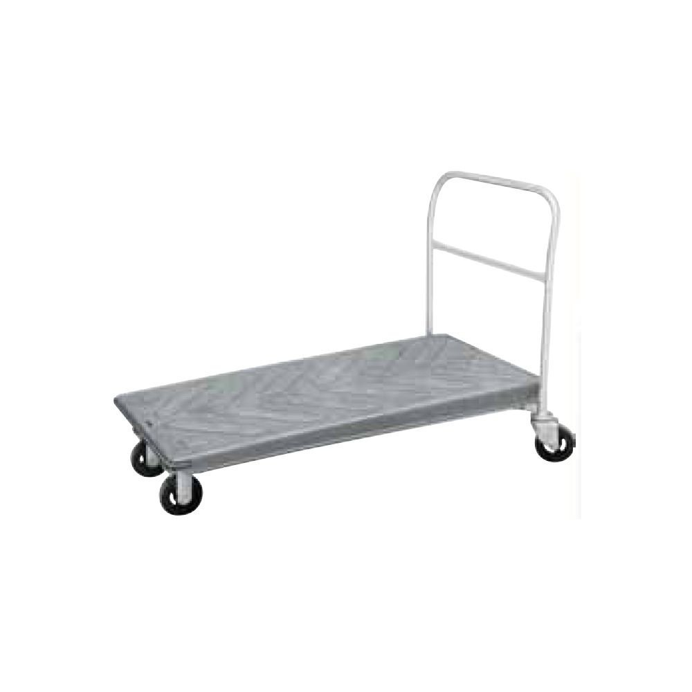 "Win-Holt PN3060F Nesting Platform Cart with Front Basket 30"" x 60"""