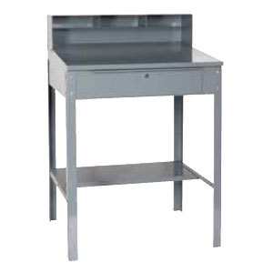 Win-Holt RDSWN-4 Stationary Steel Receiving Desk 32-1/2""