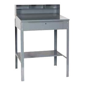 """Win-Holt RDSWN-4 Stationary Steel Receiving Desk 32-1/2"""""""