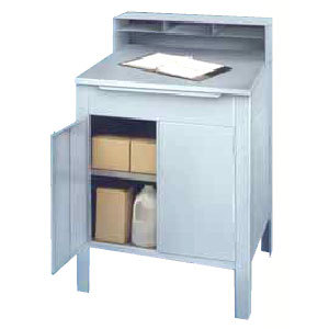 Win-Holt RDSWN-5 Stationary Steel Enclosed Receiving Desk