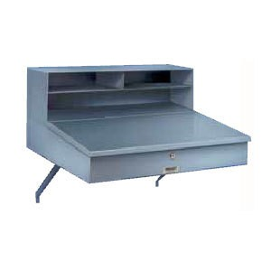 Win-Holt RDWNSS-1 Stainless Steel Wall Mount Receiving Desk