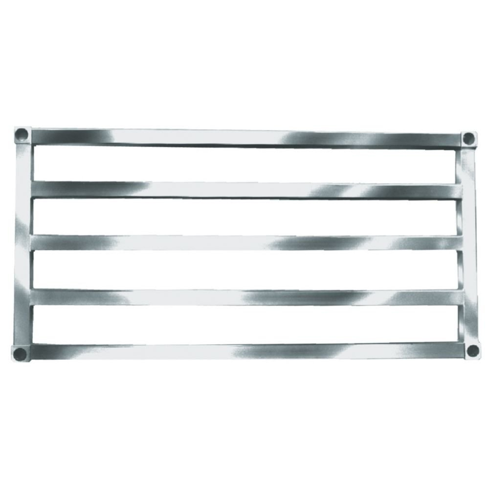 Win-Holt SAS2448 Aluminum Tubular Shelf 24& x 48&
