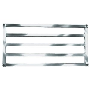 Win-Holt SAS2472 Aluminum Tubular Shelf 24& x 72&