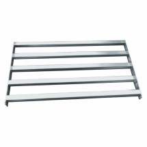 "Win-Holt SCAS-2148-4-AU 21"" x 48"" Cantilevered Tubular Add On Shelving Unit"