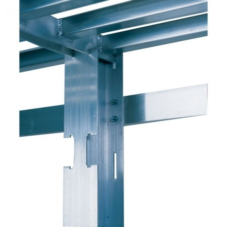 """Win-Holt SCASU-24R Right Upright for Cantilevered Shelving 24"""""""