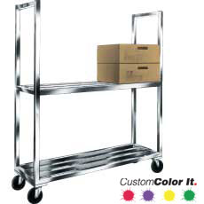 Win-Holt SMC-63 HD Sani-Mobile Cooler Cart