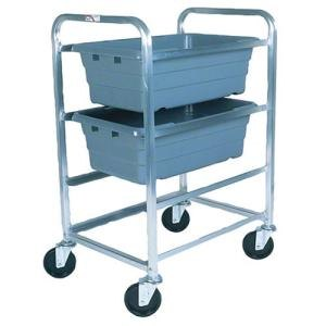 Win-Holt SS-L-3 3-Lug Stainless Steel Mobile Lug Cart