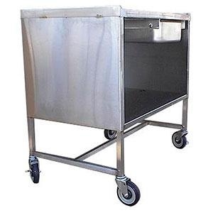 Win-Holt SSSC-3624MSD Enclosed Stainless Steel Sample Demo Table