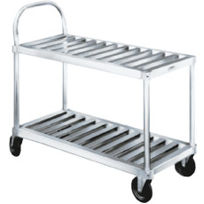 Win-Holt TBST-1837 Heavy Duty Aluminum Sani-Stock Cart