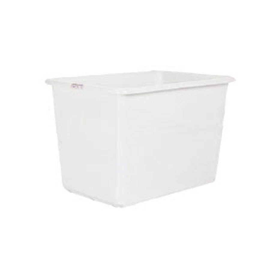 Win-Holt TUB-6A-WH6 White 6 Bushel Tub for 30-6 Series Bulk Movers
