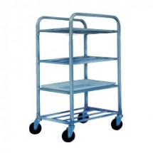 Win-Holt UNAL-4 Four-Shelf Aluminum Universal Cart
