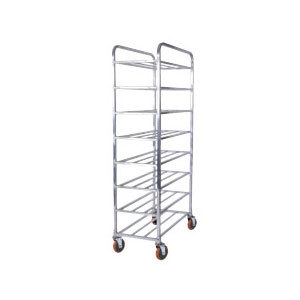 Win-Holt UNAL-8 Eight-Shelf Aluminum Universal Cart