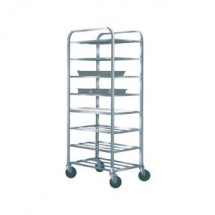 Win-Holt UNAL-8-WEG Eight-Shelf Aluminum Universal Cart