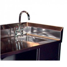 Win-Holt WH-SSI Win-Fab Sink Modification, Integrated Side Splash