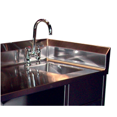Win-Holt WH-SSI Win-Fab Sink Modification Integrated Side Splash